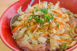 小琉球美食 - 搭半潛艇吃鮪魚蓋飯 x 料多味美好好吃