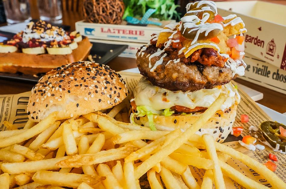 墨卡蓮特漢堡